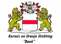 "Kermis en Oranje Stichting ""Baak"" logo"